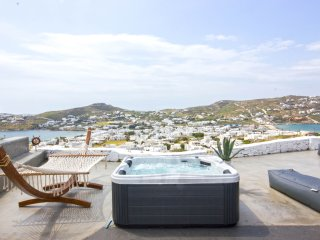 Luxury Mini Suite near Ornos Beach - Adults Only