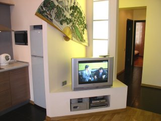 Lux. Two bedrooms. 17 Baseina St. Centre of Kiev