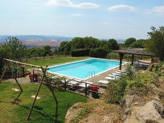 Fonte Sanesi casale in Val'd'Orcia con piscina e aria condizionata