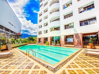 Big condo next to pool and best area of Chiang Mai city!