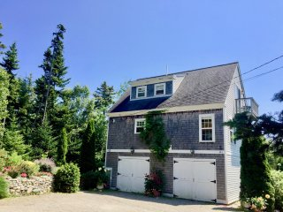 Home & Cottage w/ Great Ocean Views near Acadia