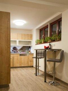 Küche - Bild 2 - Ferienwohnung Murmeltier Albtal
