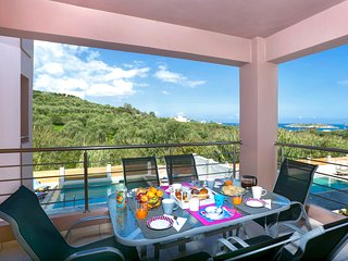 Villa Mimis with private pool nr Almyrida & Kalyves