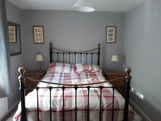 lovely comfortable double bed