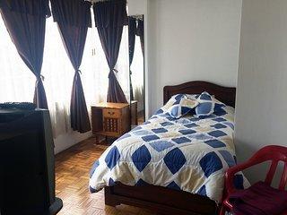 Comoda habitacion, como sentirse en casa!!