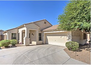 NEW! Modern 2BR Maricopa Home w/ Ideal Backyard!