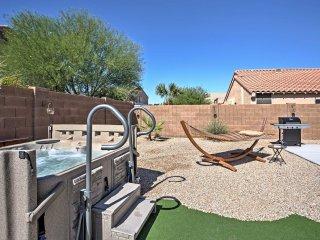 Modern Maricopa Home w/Hot Tub & Ideal Backyard!