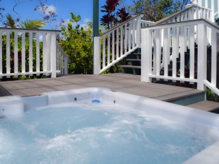 Open, Airy, Light and Comfortable - With Hot Tub Near Kehena Beach