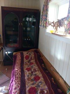 Bed nr. 2 - in the livingroom