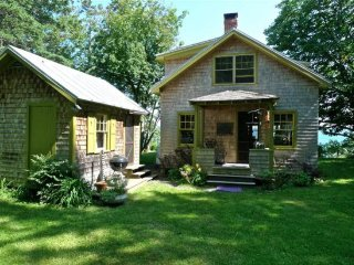 Authentic 1940's renovated cottage -an absolute waterfront gem.