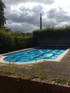 Access to unheated swimming pool (when available)