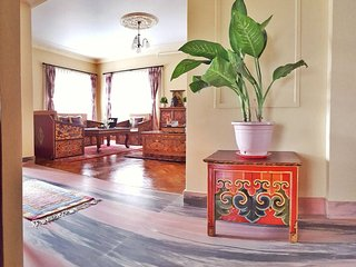 Exotic Tibetan Lotus Room
