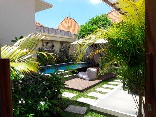 APANYA Villa 3 chambres avec piscine, cuisine ouverte sur jardin, proche plage