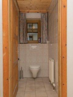 De wc beneden