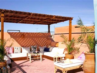 Marrakesh - magnifique riad dans la 'Kasbah'