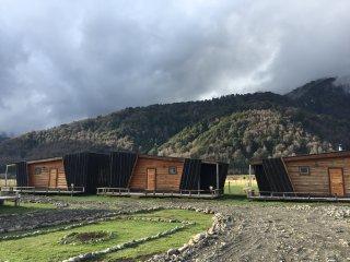 La Aldea Malalcahuello, Cabins de Montaña, Malalcahuello, Araucanía, Chile