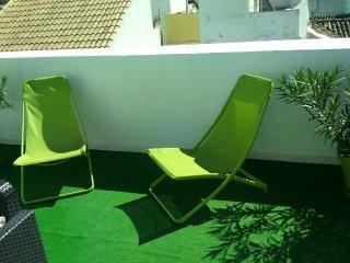 Malaga Centro Ático-Duplex  terraza 25m equipada para disfrutarla todo año WIFI
