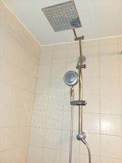 Even RAIN shower option!