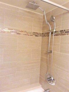 Even a RAIN shower option.