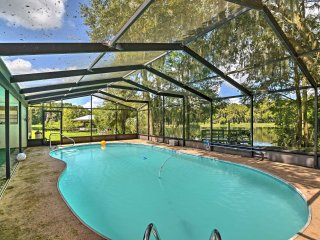 NEW! 3BR Dunnellon Home on Rainbow River w/ Pool!