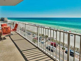 ~BEACH VIEW~ DLX Condo * Seascape Resort! Pool, Hotub, Gym + FREE VIP Perks!!