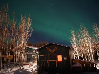 Waterfront Urban Farm-Northern Lights Viewing from Your Doorstep