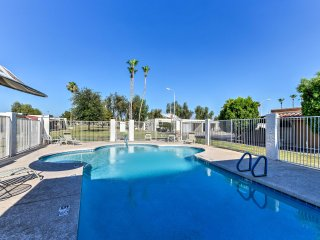 NEW! 2BR Mesa Condo on the Green w/ Pool Access!