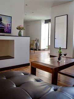 La Casa Cosy Exotique Biarritz Les Halles Living room