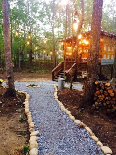 a warm and inviting camp that provides more than just a place to stay