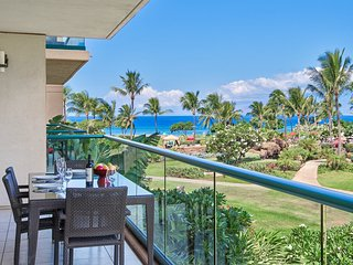 Maui Resort Rentals: Honua Kai Hokulani 246 - 2BR w/ Partial Ocean AND Lush West