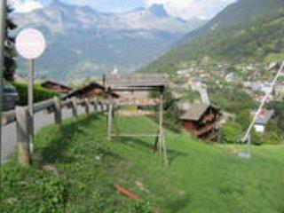 Sur les hauteurs de Saint Gervais, agréable T2 exposé sud, 5 personnes