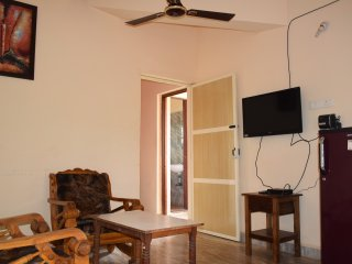 Relax & Rejuvinate at Apartment near Morjim beach Goa with Kitchen Wifi