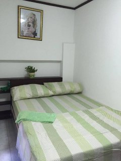 We offer you one double-bed with a high quality matress.
