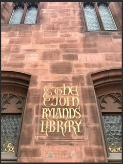 John Rylands Library- 15 min drive (No1 on TripAdvisor things to do in Manchester)