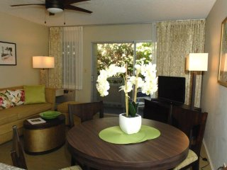 Spacious Kauai 1bedroom condo. Sleep 6. Walk to the beach/shops/restaurants