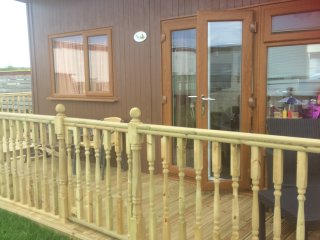2 Bedroom, 4 berth, semi detached chalet, Mablethorpe Chalet Park Dog Friendly