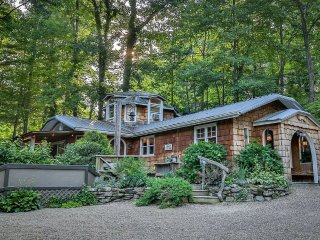 Willow Falls Estate: 2 Stunning Homes on Waterfall Property, 5 acres