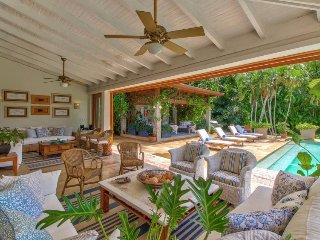 Large group getaway with private pool, golf on-site, tennis courts, and more