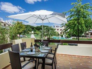 CASA SUNRISE in Vila Sol Golf Resort .The villa overlooks the swimming pool