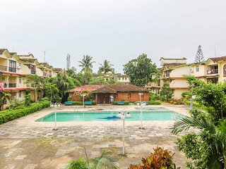 2 BHK Pool-facing Apartment near beach in Calangute