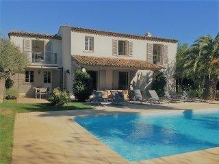 Magnifique villa St Tropez, emplacement ideal, domaine de Castellane