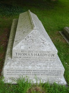 Nearby Stinsford has the grave of Thomas Hardy