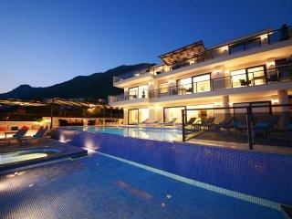 Villa King Tiger in Kalkan 6 BDR/Sleeps 12,Private Pool,Jacuzzi %10 Discount