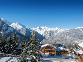 M chalet 5***** in superb location Sky
