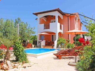 Spacious and comfortable Villa Vesna with pool in Sisan