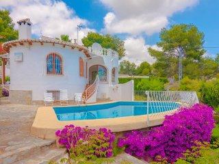 Villa Lolita en Benissa,Alicante,para 8 personas