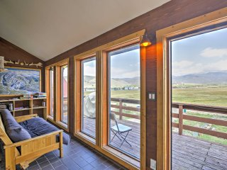 New! 7BR Tabernash House w/ Stunning Mtn Views!