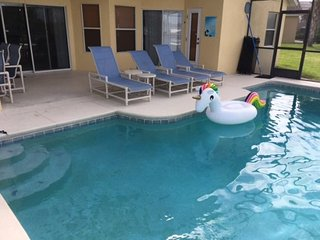 446OBC. 4 Bedroom 3 Bath Pool Home In DAVENPORT FL.