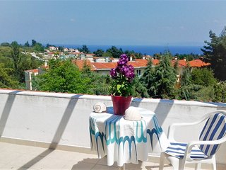 Apartment  Olia View 2 with a huge terrace with panoramic sea views.