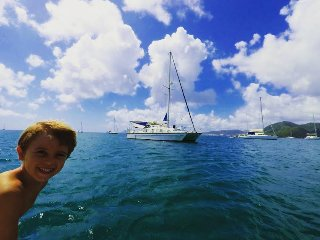 Catamaran A Boat Spirit